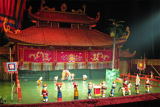 Water Puppets Hanoi Southeast Asia Tours
