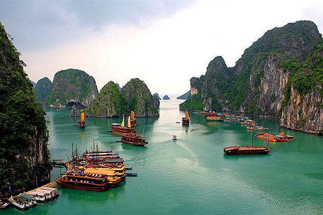 World Heritage of Halong Bay - Indochina Tours