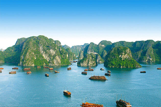 14 day indochina tour itnerary to halong bay