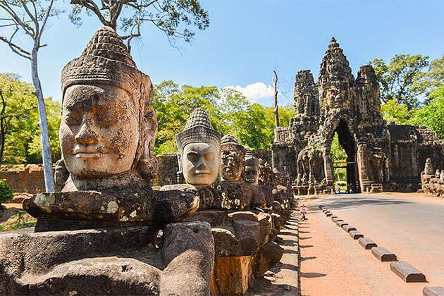 Angkor Wat Siem Reap Cambodia Vietnam Itinerary