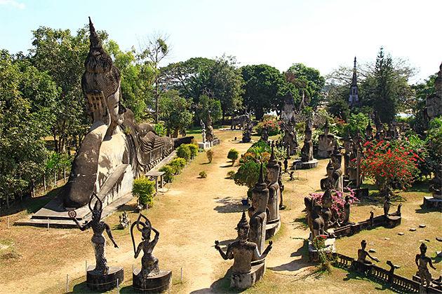 Buddha Park Vientiane - 15 Day Trip in Cambodia Laos