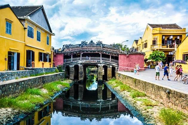 Japanese Covered Bridge - 20 Day Trip in Vietnam Laos