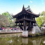 One Pillar Pagoda Hanoi - Vietnam Laos Itinerary 20 Days