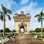 Patuxay Monument Vientiane - Vietnam Laos 20 Day Itinerary