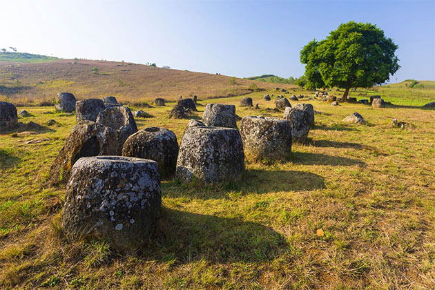 Plain of Jars Phonsavan - 15 Day Itinerary in Cambodia and Laos
