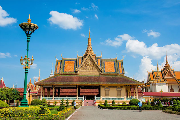 Royal Palace Phnom Penh - Cambodia Laos Trip 15 Days