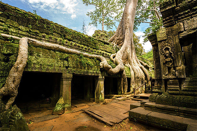 The Famous Temple of Tomb Raider Cambodia Vietnam Vacation