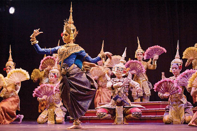 Traditional Khmer Performance Cambodia and Vietnam Tour