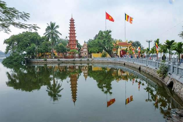 Tran Quoc Pagoda - Vietnam Laos 20 Day Itinerary