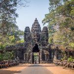 Victory Gate Angkor Thom - Cambodia Laos 15 Days