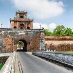 Gate to Hue Imperial Citadel - Vietnam Laos Trip
