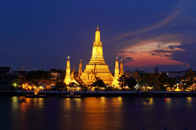 bangkok thailand southeast asia vacation packages