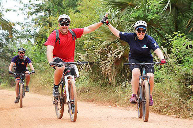 cycling in phnom penh cambodia vietnam laos 3 week tour
