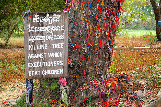 killing fields phnom penh laos cambodia tour itineraries