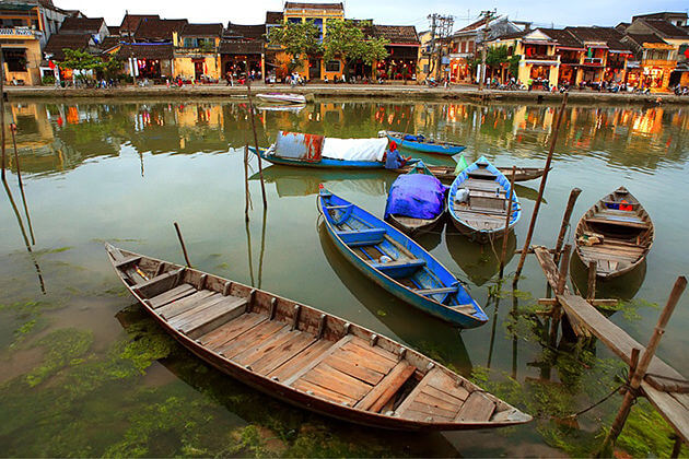 relax in the quiet town of hoi an tours to vietnam laos