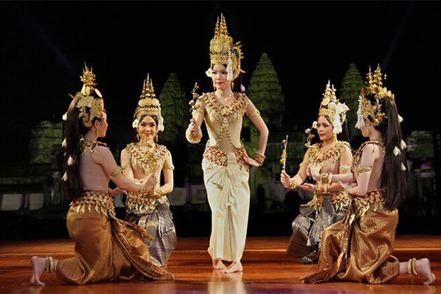 traditional apsaras dance show siem reap