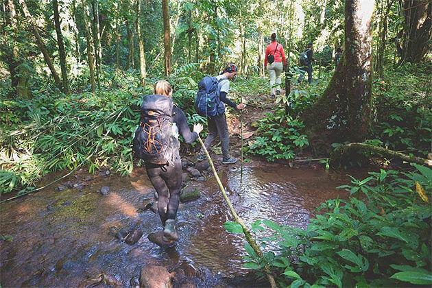 trekking to luang namtha laos