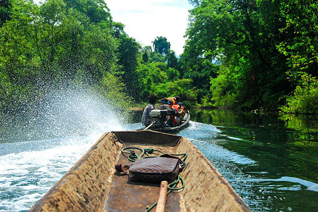 venture through the underground river caves laos cambodia trips