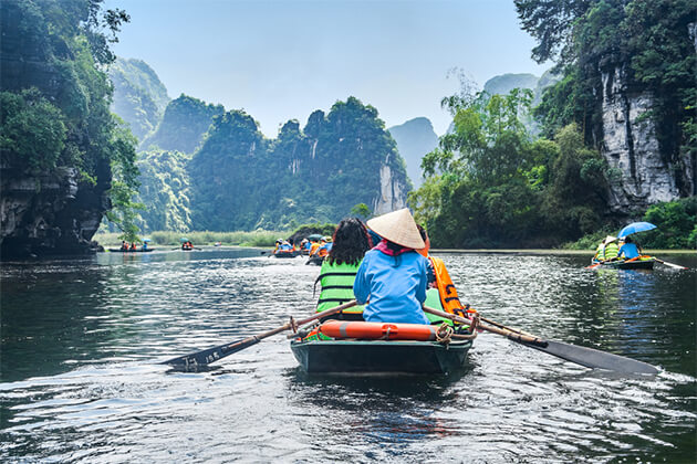 Boat trip on Ngo Dong River - Ecotourism Experiences in Vietnam
