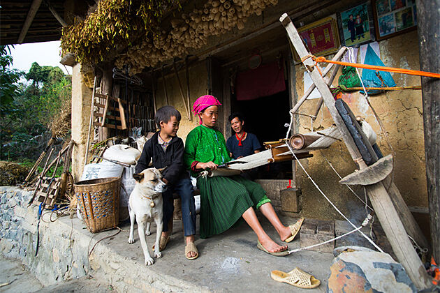 Ethnic groups in Ha GIang - Ecotourism in Vietnam