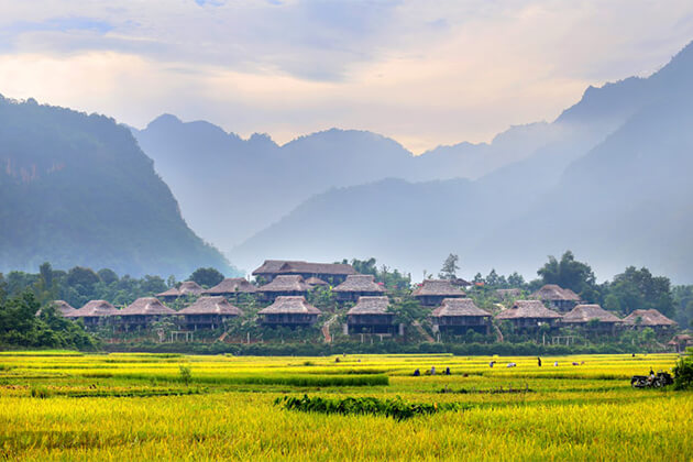 Mai Chau Hoa Binh Indochina Travel Package 23 Days