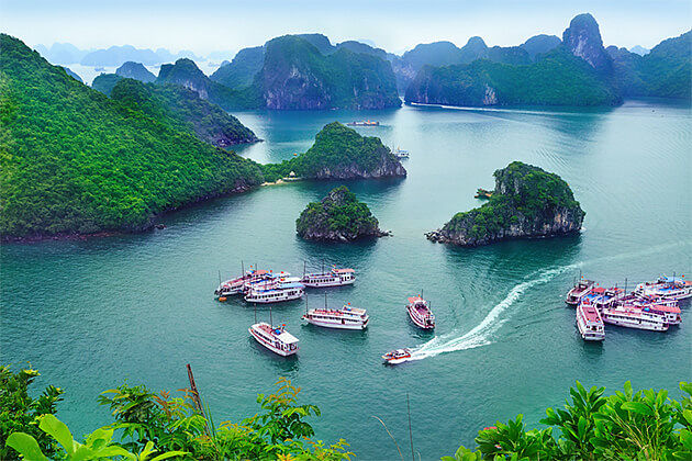 Nature Wonder of Halong Bay Indochina Tours