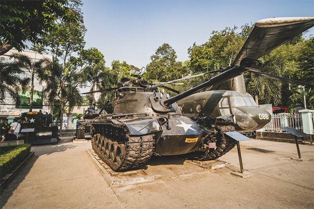 War Remnants Museum 23 Days in Cambodia Vietnam Laos