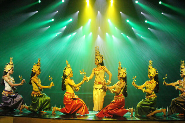 Apsara Dance Show in Siem Reap