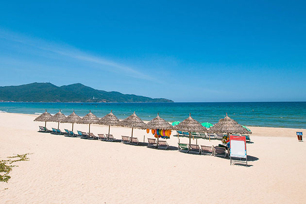 Beautiful Danang Beach from Vietnam& Cambodia Tour