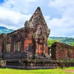 Majestic Vat Phou ruins in Pakse - Indochina Tours