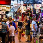Shopping at Russian Market from Cambodia & Vietnam tour