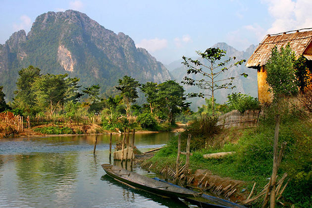 Vang Vieng Discovery in Indochina Tours