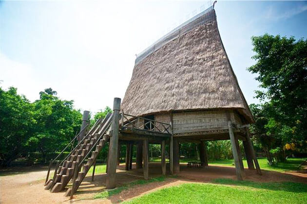 Visit Museum of Ethnology in Vietnam- Cambodia Tour
