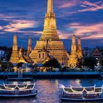 beautiful Bangkok at night