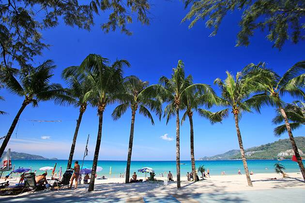 Enjoy beautiful Phuket Beach in Thailand