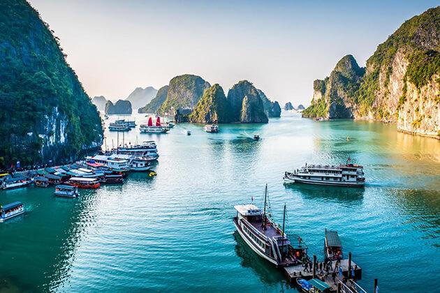 Visit Halong Bay- Vietnam & Thailand Tour