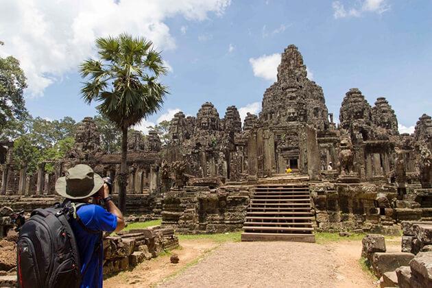 Angkor Thom exploration in Vietnam-Cambodia tour