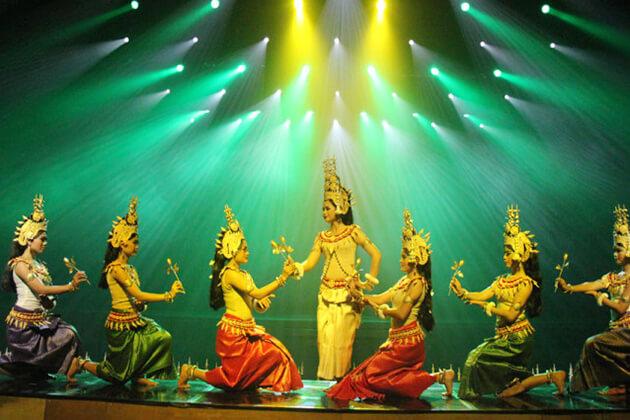 Apsara Dance Show in Siem Reap