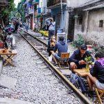 Enjoy Railway cafe from Vietnam Cambodia tour