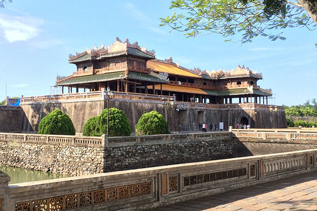 Hue Imperial City - best place to visit in Viet Cambodia tour
