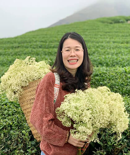 Mrs.Hana Nguyen - Managing Director of Indochina Tours