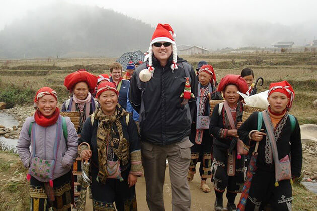 Christmas in Sapa Vietnam