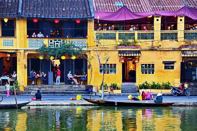 explore Historic shophouses in Hoi An's Ancient town