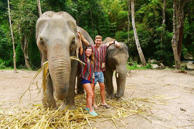Chiang Mai Elephant Nature Park - best place to visit in Indochina tour