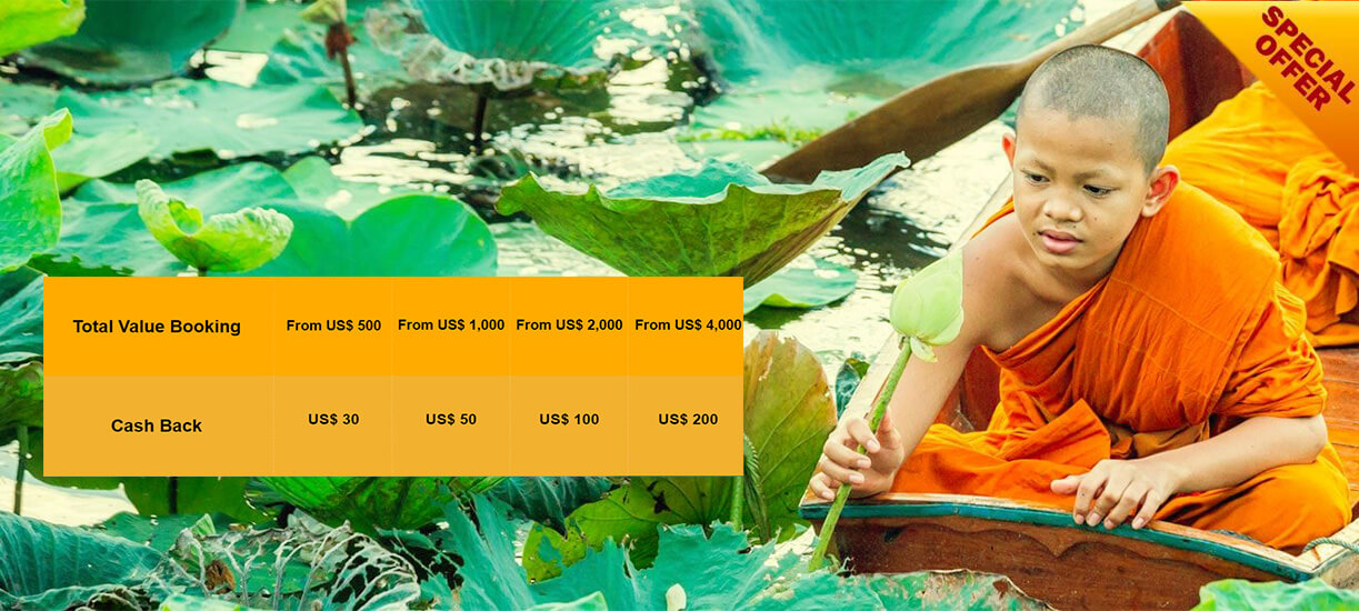vietnam cambodia & Laos tours early bird promotion