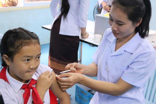 COVID-19 vaccines arrived in Lao PDR